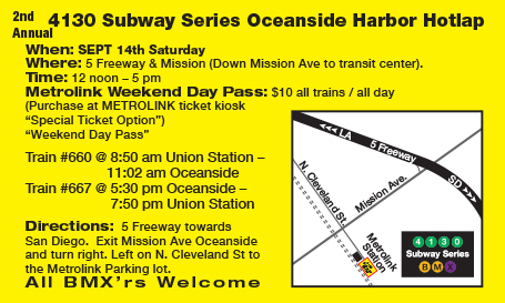 OCEANSIDE DIRECTIONS / TRAIN INFO